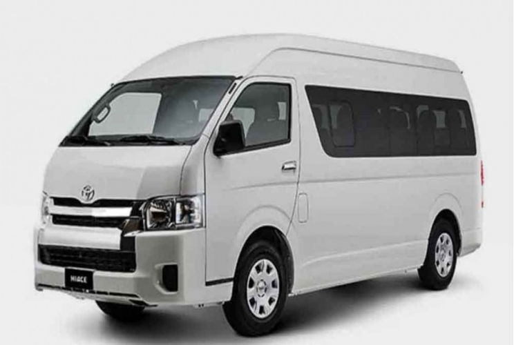 TOYOTA HIACE ( Capacity 15 persons )