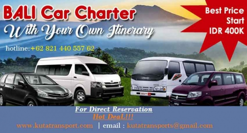 Tour transport service in Bali